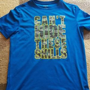 Boys Reebok CAN'T HANDLE THESE SKILLS active shirt